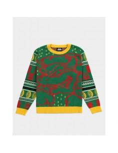 Suéter Christmas Bowser Nintendo TALLA CAMISETA L