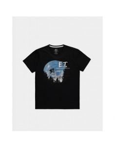 E.T. El Extraterrestre Camiseta The Moon TALLA CAMISETA L