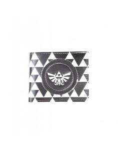 Monedero The Legend of Zelda Triforce Black & White