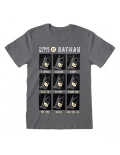 Camiseta DC Batman – Emotions Of Batman - Talla Adulto TALLA CAMISETA L