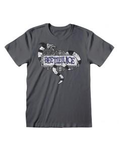 Camiseta Beetlejuice – Sandworm Logo - Talla Adulto TALLA CAMISETA L