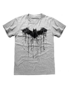 Camiseta DC Batman – Dripping Logo - Talla Adulto TALLA CAMISETA S