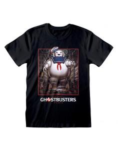 Camiseta Ghostbusters – Stay Puft Square - Talla Adulto TALLA CAMISETA L