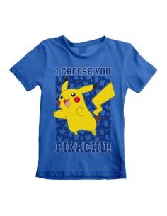 Camiseta Pokemon - I Choose You   - Niño TALLA CAMISETA NIÑO TALLA 110 - 5 AÑOS