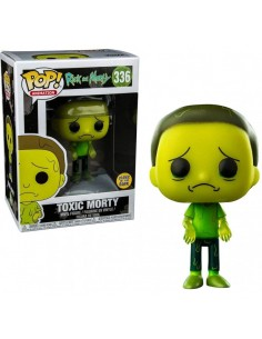 Figura POP! Vinyl Rick and Morty - Toxic Morty Special Edition (Glow In Dark)