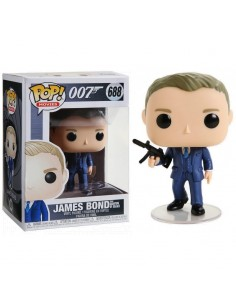 POP! Vinyl Movies: James Bond - James Bond (Quantum of Solace) 688