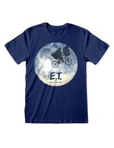 Camiseta ET - Moon Ride Silhouette - Unisex - Talla Adulto TALLA CAMISETA S