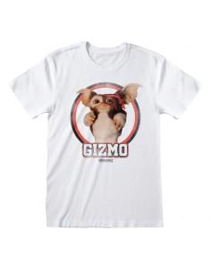 Camiseta Gremlins - Gizmo Distressed - Unisex - Talla Adulto TALLA CAMISETA S