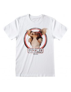 Camiseta Gremlins - Gizmo Distressed - Unisex - Talla Adulto TALLA CAMISETA L