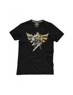 Camiseta Nintendo The Legend of Zelda Camiseta Hyrule Link Unisex - Talla Adulto TALLA CAMISETA M