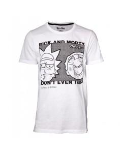 Camiseta Rick and Morty - Don't Even Trip Even - Link Unisex - Talla Adulto TALLA CAMISETA L