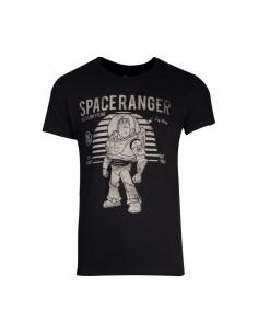 Camiseta Toy Story - Space Rangers Buzz Lightyear Vintage - Unisex - Talla Adulto TALLA CAMISETA S