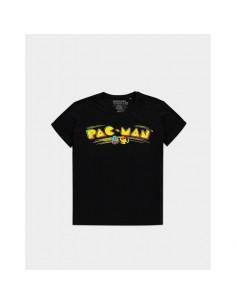 Camiseta Pac-man - Retro Logo - Unisex - Talla Adulto TALLA CAMISETA M