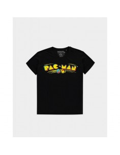 Camiseta Pac-man - Retro Logo - Unisex - Talla Adulto TALLA CAMISETA L