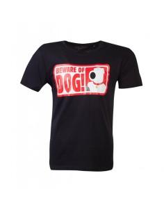 Camiseta Family Guy - Beware Of Dog - Unisex - Talla Adulto TALLA CAMISETA XL