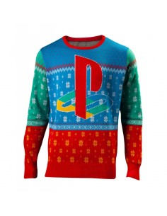 Suéter - Playstation - Tokyo Knitted - Unisex - Talla Adulto TALLA CAMISETA L
