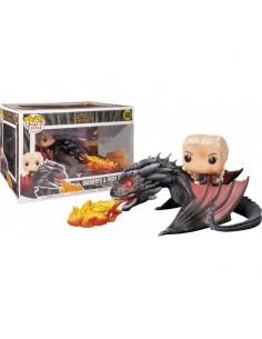 POP! Rides: Game Of Throne - Daenerys on Fiery Drogon - 68