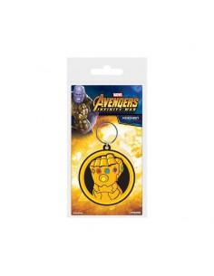 Avengers Llavero caucho - Guante del Infinito