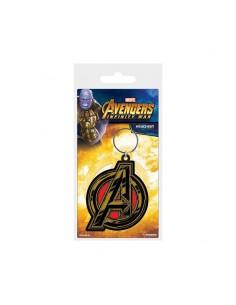 Marvel Llavero caucho - Avengers Symbol