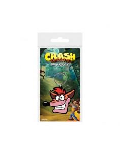 Crash Bandicoot Llavero caucho - Extra Life