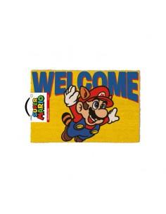 Super Mario Felpudo Welcome