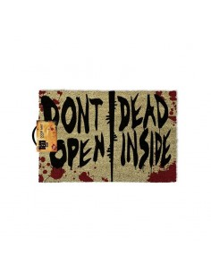 The Walking Dead Felpudo Dont Open Dead Inside