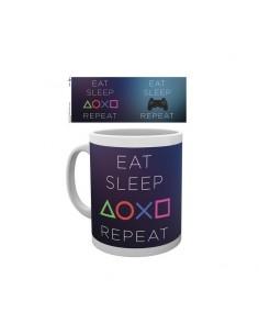 Playstation Taza EAT SLEEP REPEAT