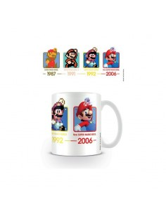 Super Mario Taza Super Mario Dates