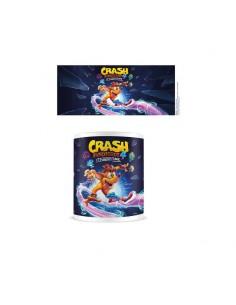 Crash  Bandiccot Taza CRASH BANDICOOT 4 IT'S ABOUT TIME