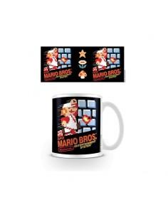 Super Mario Taza SUPER MARIO BROS NES COVER