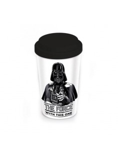 Star Wars Taza de Viaje STAR WARS THE FORCE IS STRONG
