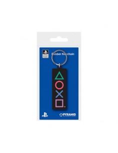 PlayStation Llavero caucho - PLAYSTATION SHAPES