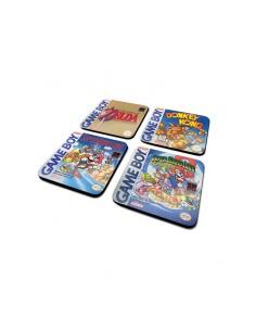 Super Mario Set de 4 Posavasos GAMEBOY CLASSIC COLLECTION