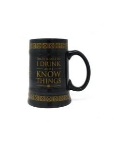 Juego de Tronos Jarra de cerveza GAME OF THRONES DRINK & KNOW THINGS