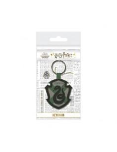 Harry Potter Llavero caucho - HARRY POTTER SLYTHERIN