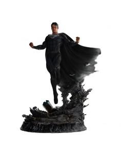 Superman Black Suit - La Liga de la Justicia de Zack Snyder