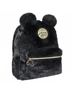 Disney Mochila Peluche Black Collection Mickey PELO