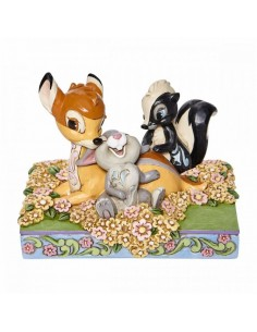Disney Traditions : BAMBI AND FRIENDS FIGURINE