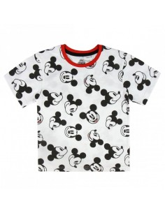 Camiseta Corta Premium Single Jersey Mickey Mouse - Niño TALLA CAMISETA NIÑO TALLA 86 - 2 AÑOS