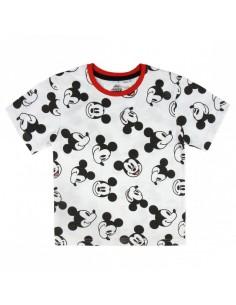 Camiseta Corta Premium Single Jersey Mickey Mouse - Niño TALLA CAMISETA NIÑO TALLA 110 - 5 AÑOS