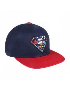 Gorra Visera Plana Superman Logo Bordado
