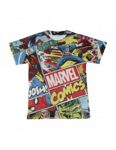 Camiseta Corta Premium Marvel TALLA CAMISETA NIÑO TALLA 128 - 8 AÑOS