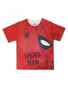 Camiseta Corta Premium Spiderman - Niño TALLA CAMISETA NIÑO TALLA 104 - 4 AÑOS