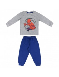 Pijama Largo Single Jersey Spiderman - Niño TALLA CAMISETA NIÑO TALLA 110 - 5 AÑOS