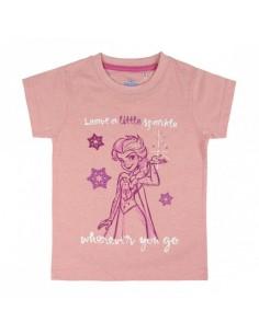 Camiseta Manga Corta Frozen - Niño TALLA CAMISETA NIÑO TALLA 104 - 4 AÑOS