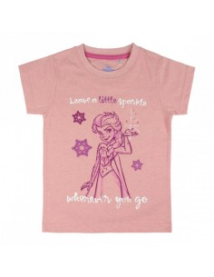 Camiseta Manga Corta Frozen - Niño TALLA CAMISETA NIÑO TALLA 122 - 7 AÑOS