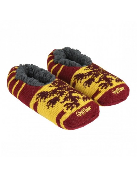 Zapatillas de Casa Suela Blanda Harry Potter Gryffindor