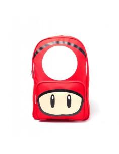 Mochila Mushroom Placed Print Nintendo
