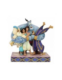 Disney Traditions : Group Hug! (Aladdin Figurine)
