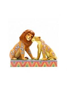 Disney Traditions : Savannah Sweethearts (Simba and Nala Figurine)